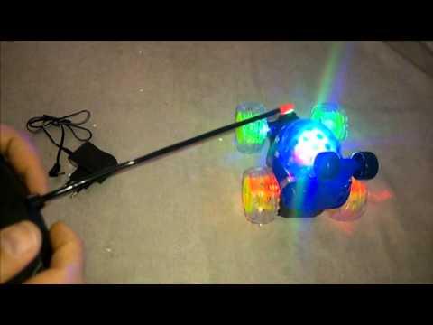 R.C. Ferngesteuertes Auto Stunt Car mit LED Lichteffekte RC Radio Auto CAR GRÖßE