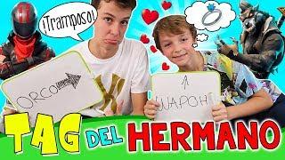 ¡¡TAG Del HERMANO!! 😜¿Cuánto Me Conoce MATEO? 💍¿HUGO HAACK Se QUIERE CASAR?