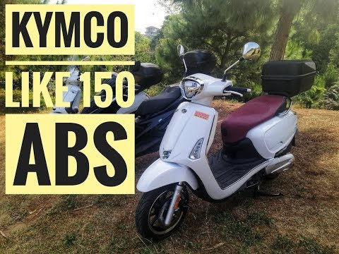 Kymco Like 150i ABS Review