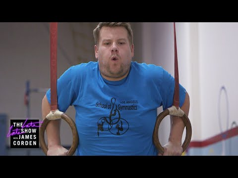James Corden: Future Gymnastics Champion?