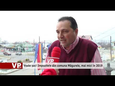 Veste șoc! Impozitele din comuna Măgurele, mai mici în 2019