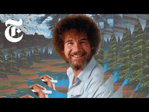 What Happened to Bob Ross' Famous Paintings?