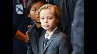 Почему дочь Питта и Джоли Шайло выглядит как мальчик