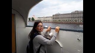 Впечатления тайки Нитт от Санкт-Петербурга. Уличные музыканты, разведение мостов
