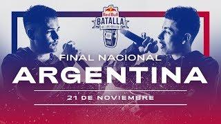 Final Nacional Argentina 2020 | Red Bull Batalla de los Gallos