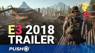 Days Gone PS4 Release Date Trailer: 22nd February | PlayStation 4 | E3 2018