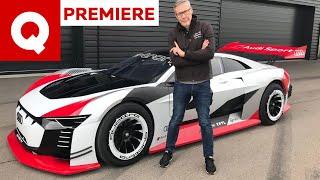 Audi e-tron Vision Gran Turismo: l