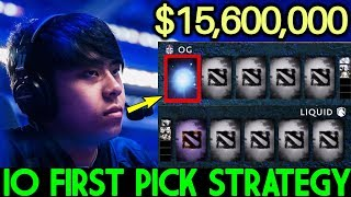 ANA IO Carry First Pick Strategy Epic $15,600,000 Game Dota 2