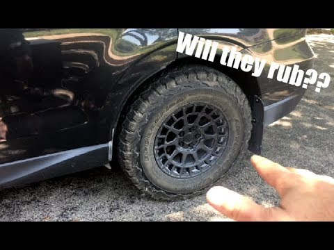 "Will 29"" tires fit a stock Subaru?  BFG K02 update!"