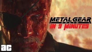 Metal Gear Franchise in 3 Minutes (Animation)