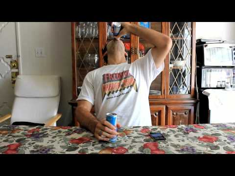 Video 4 Red Bulls in One Minute: Vs Dude Where's My Challenge