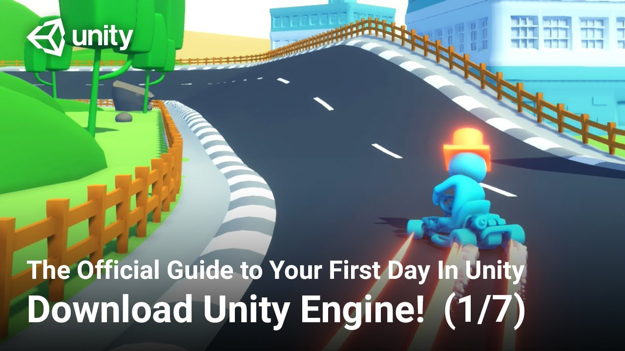 Download Unity Engine (Official Unity Tutorial)