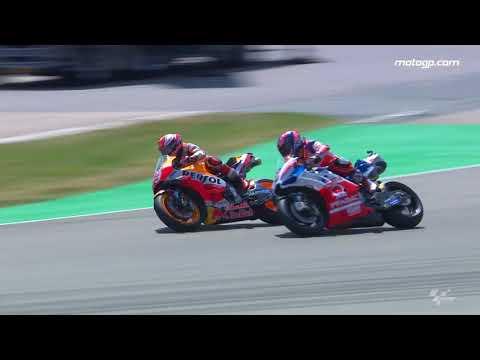 2018 German GP - Honda in action