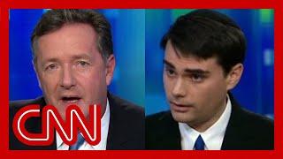 Ben Shapiro and Piers Morgan on guns