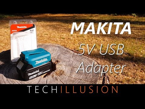 Das MUST HAVE FÜR JEDEN MAKITA Liebhaber - Akku USB Adapter ADP05 - Review & Test