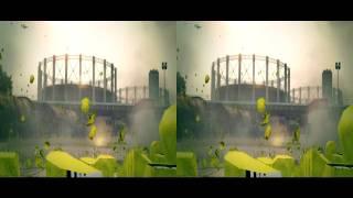 DiRT 3 Gymkhana Tutorial in 1080p Stereo 3D (yt3d)