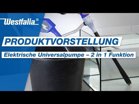 Westfalia Elektrische Universalpumpe 2 in 1