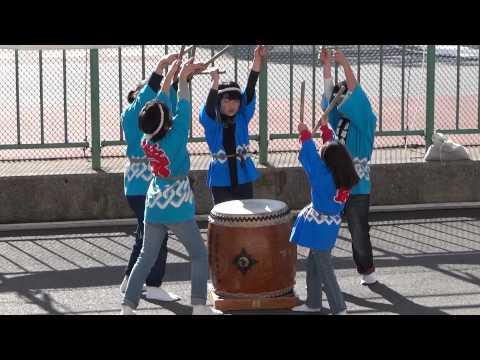 京町小学校 和太鼓演奏 ?/川崎地区消防出初式2014
