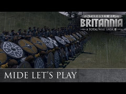 Total War: THRONES OF BRITANNIA - Gaelic Lets Play