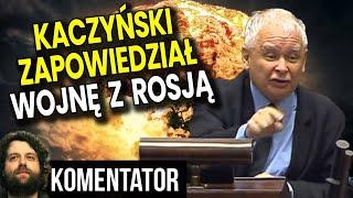 To Nie Żart! Kaczyński w Sejmie Zapowiedział Wojnę z Rosją!