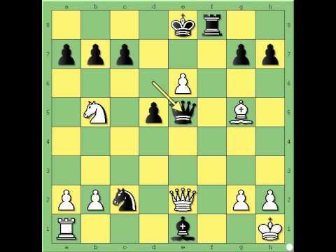 Šahovski genije ili madjioničar - TALJ vs MILLER - najlepse partije  # 450