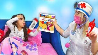 Додо Заболела или НЕ ХОЧЕТ идти в детский сад и ОБХИТРИЛА доктора? Вызвали ВРАЧА! Видео для детей