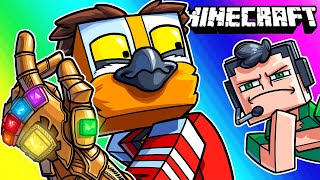 Minecraft Funny Moments - Making Nogla's House Vanish on Stream!