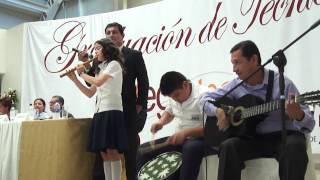 preview picture of video 'Marisol y su quena, en Graduación del MEGATEC La Unión'