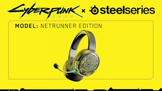 SteelSeries Arctis 1 Wireless: Cyberpunk 2077 Netrunner Edition