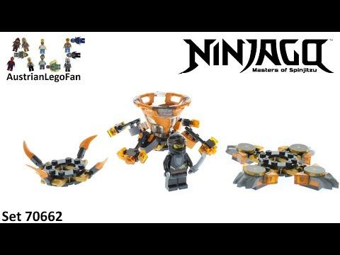 Vidéo LEGO Ninjago 70662 : Toupie Spinjitzu Cole