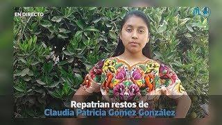 Repatrian restos de Claudia Patricia Gómez González | Prensa Libre