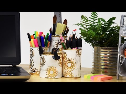 Upcycling Household Items Quick Make