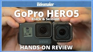 GoPro HERO5 Black & Session - Hands-on Review - 4K