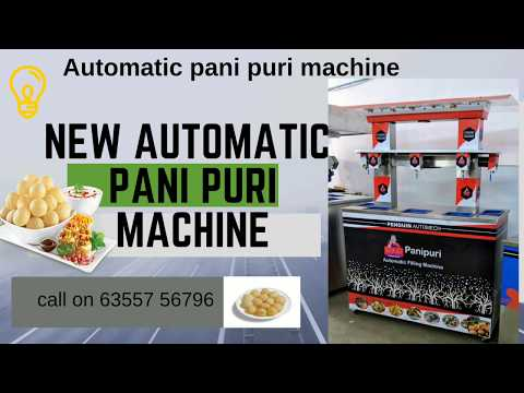 Automatic Panipuri Vending Machine