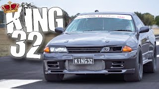 """1500HP Nissan """"KING32"""" GTR Lays Down the LAW!"""