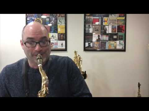 Verve for solo tenor sax by Matthew Kennedy