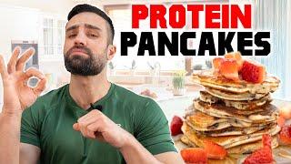 High PROTEIN PANCAKES   Lecker & Top Nährwerte (29g Protein)