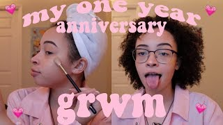 Gambar cover my one year anniversary get ready with me - makeup & outfit (part 1) | aliyah simone
