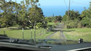 preview picture of video 'Full HD - Hawaii Big Island (ハワイ島) Downhill Drive Haku Nui Road, Captain Cook'