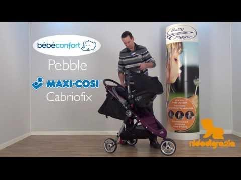 Adattatori Baby Jogger per Seggiolino Auto Maxi Cosi e Bebè Confort