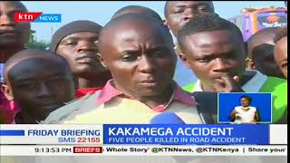 Five members from one family die in a fatal accident near Sigalagala along Kisumu-Kakamega road