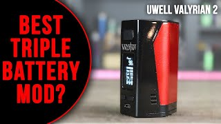 BEST TRIPLE BATTERY MOD? The Uwell Valyrian 2 Mod (+ Tank 2 Coil Update) ✌️🚭