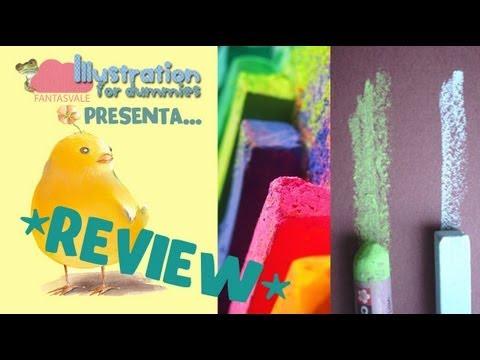Cosa sono i Pastelli Morbidi, i gessetti e le crete colorate (+ Review Maimeri Artisti)