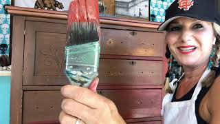 How To Paint A Fun And Funky Boho Dresser With Dixie Belle Paint
