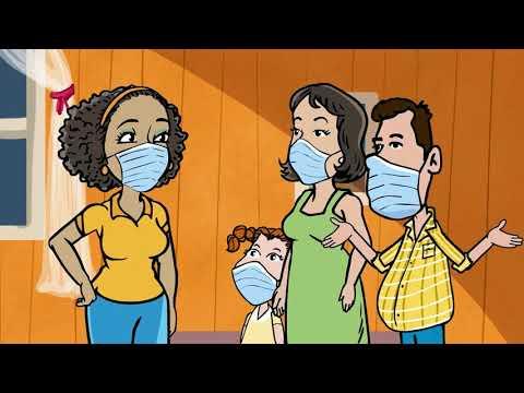 Uso correcto de la mascarilla para prevenir contagio de COVID-19