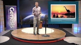 Thumbnail for video: Vandringen genom 1 Mos 1-11, 4/4: De stora kräldjuren - Biblisk kreationism avsnitt 19 - Göran Schmidt