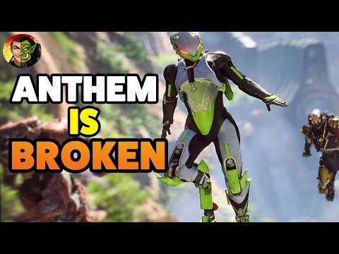 THE BUGS IN ANTHEM ACTUALLY BREAK THE GAME
