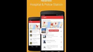 App helps you to find  Nearest Police Station.