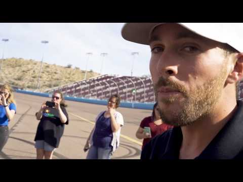 Ross Chastain Hosts HopeKids Youth at ISM Raceway