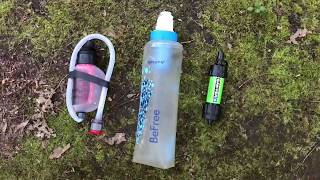 Gear Comparison Video: MSR TrailShot vs Katadyn BeFree vs Sawyer Mini Squeeze